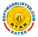 Rated 4 stars on SoftwareLister